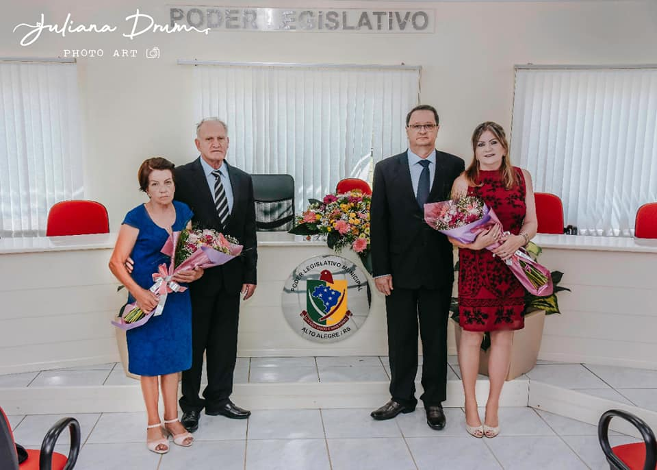 Ex-servidor e ex-vereador, Dilmar Loro comemora oportunidade de ser vice-prefeito de Alto Alegre
