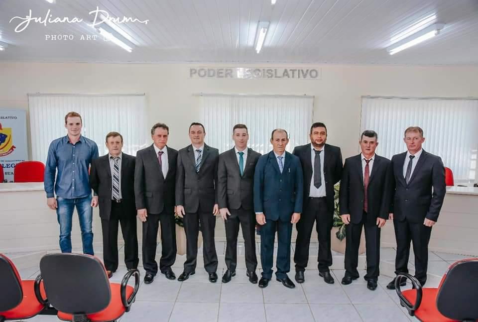 Com Daltro Cardoso eleito presidente, inicia a nova legislatura da Câmara de Alto Alegre