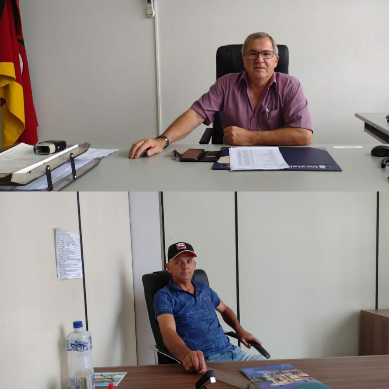 Diniz Fernandes e Aroldo Moraes projetam administração após assumirem prefeitura de Jacuizinho