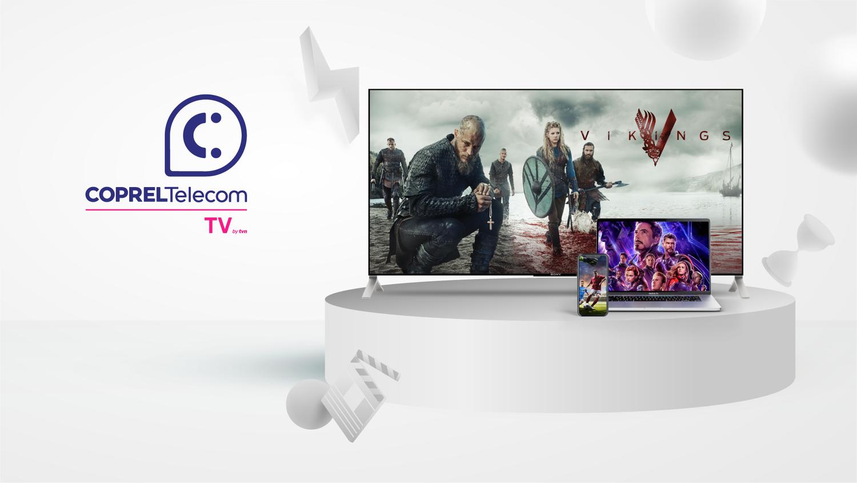 Coprel Telecom TV: A revolução da TV por assinatura