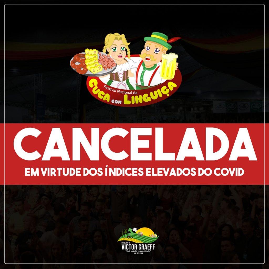 Victor Graeff cancela Live do Festival da Cuca com Linguiça