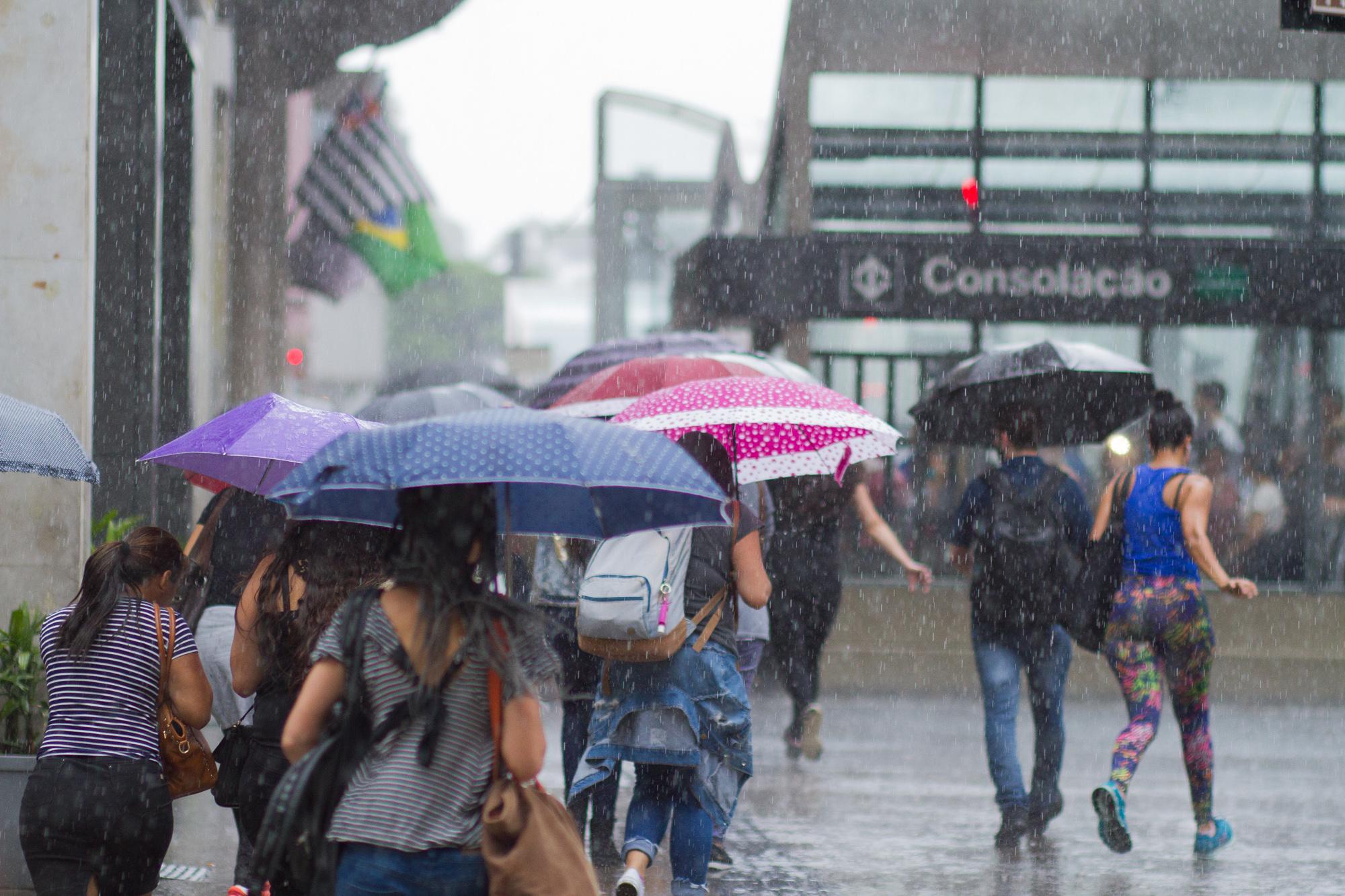 Sexta-feira será marcada por chuva em todo o Rio Grande do Sul