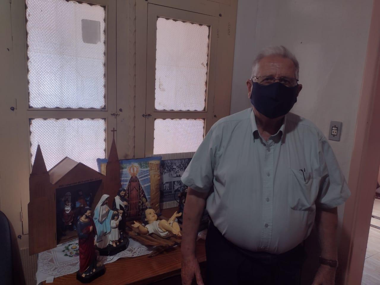 Perto de completar primeiro mês no cargo, Padre Dino projeta trabalho na Paróquia de Alto Alegre