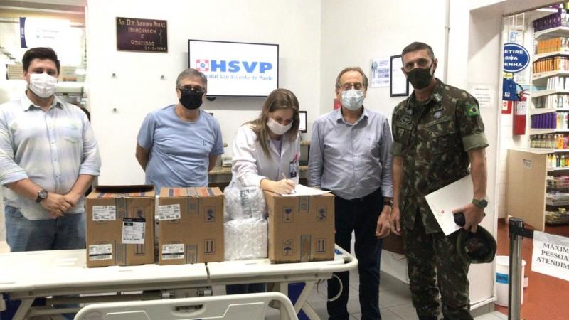 Hospital de Passo Fundo é o primeiro a receber medicamentos da nova remessa do kit intubação