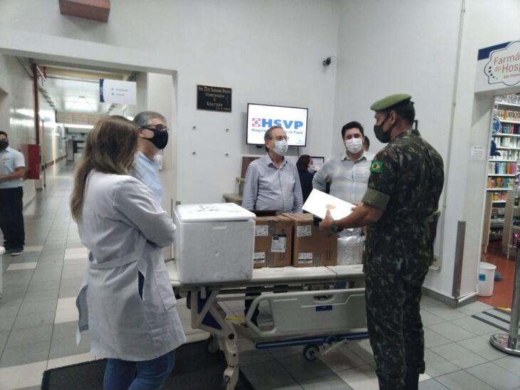 Hospital São Vicente de Passo Fundo possui estoque de medicamento para dois dias