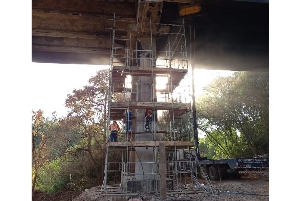 CCR ViaSul informa liberação total do tráfego na ponte da pista Sul na BR-386 em Estrela