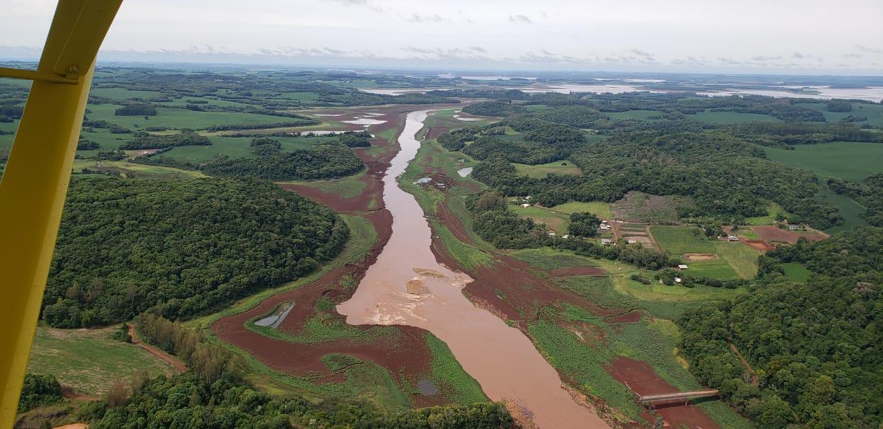 Nível da barragem do Passo Real  chega a índice histórico