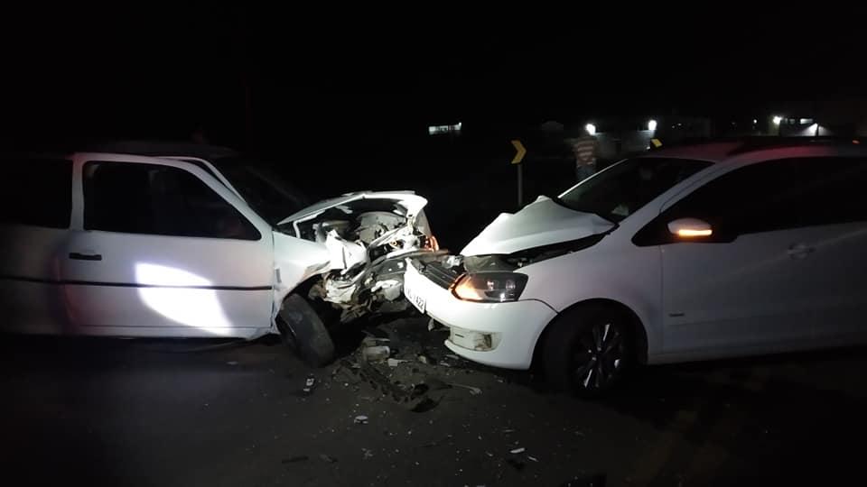 Espumosenses se envolvem em acidente em Soledade