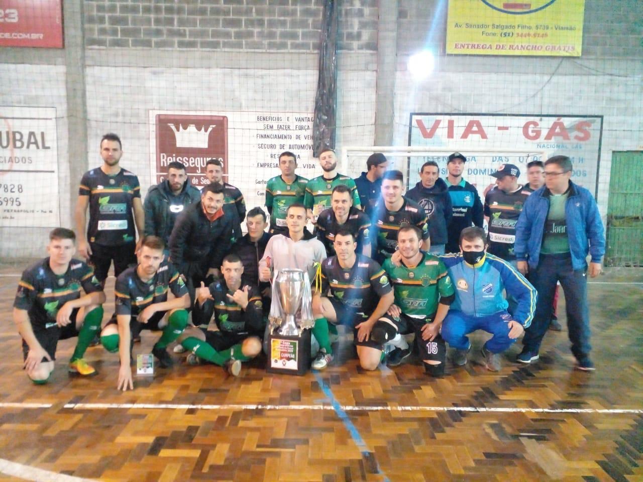 ASAF de Campos Borges perde em Viamão e é vice-campeã da Taça Rio Grandense de Futsal