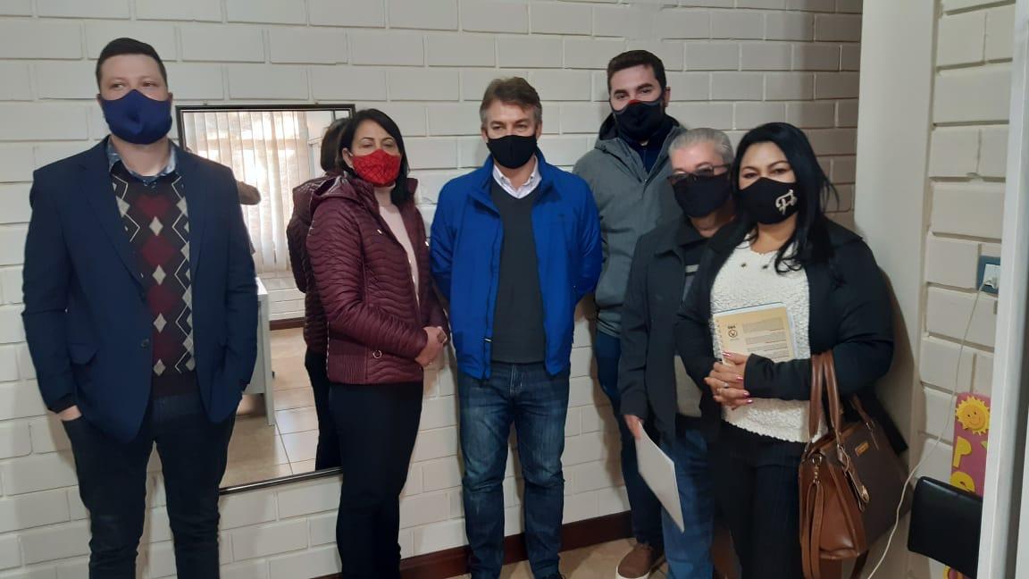 Vilmar Zanchin visita a APAE de Espumoso e anuncia liberação de emenda parlamentar de R$ 120 mil