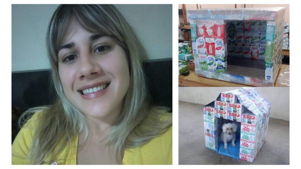 Professora Fernanda Lucca fala sobre projeto de casinha para animais