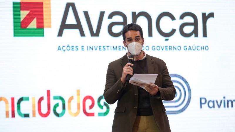Pavimenta: Lançado projeto de pavimentação em parceria com municípios do RS