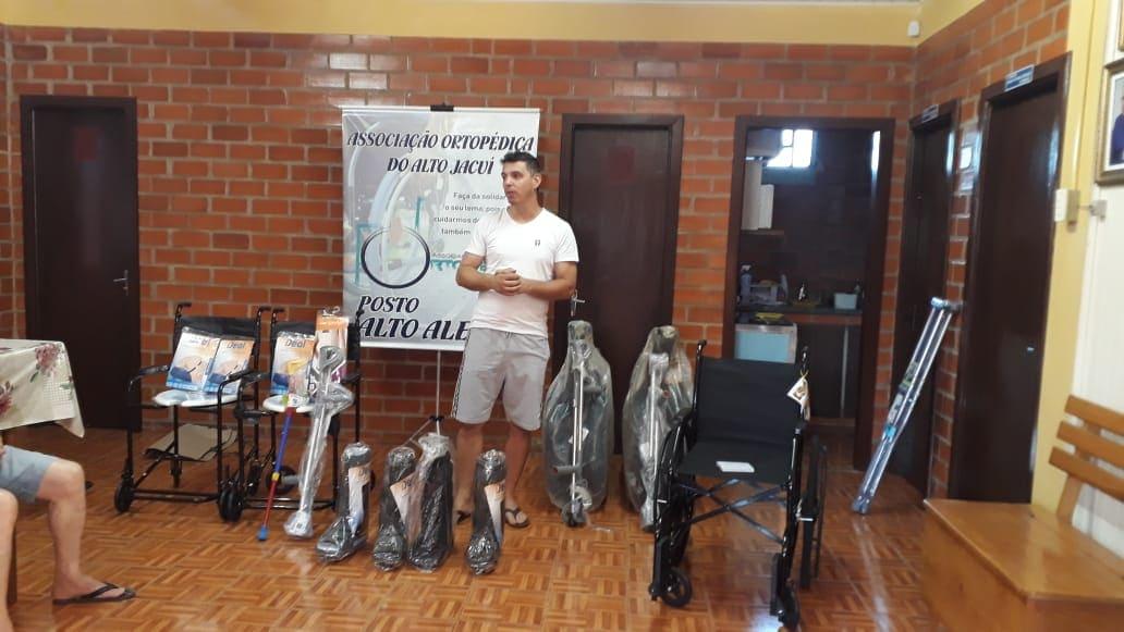 Associação Ortopédica do Alto Jacuí muda formato de empréstimo de equipamentos