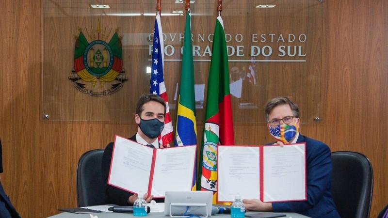 RS e embaixada americana no Brasil assinam memorando de entendimento para cooperação