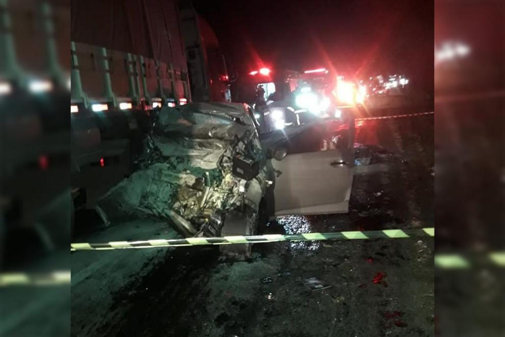 Quatro mulheres morrem em acidente na BR-386 em Ibirapuitã