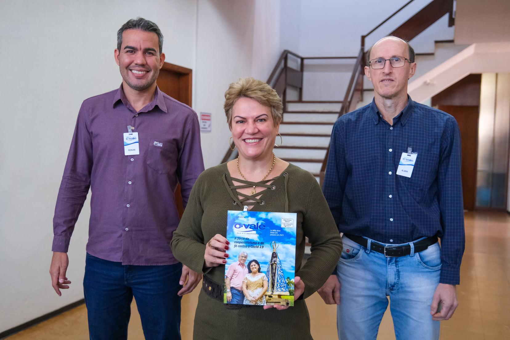 C.Vale conquista 2º lugar no Prêmio Ocepar de Jornalismo com matéria publicada na Revista C.Vale