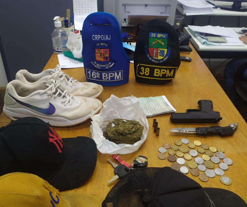 Brigada Militar prende bandidos que roubaram propriedade no interior de Ibirubá