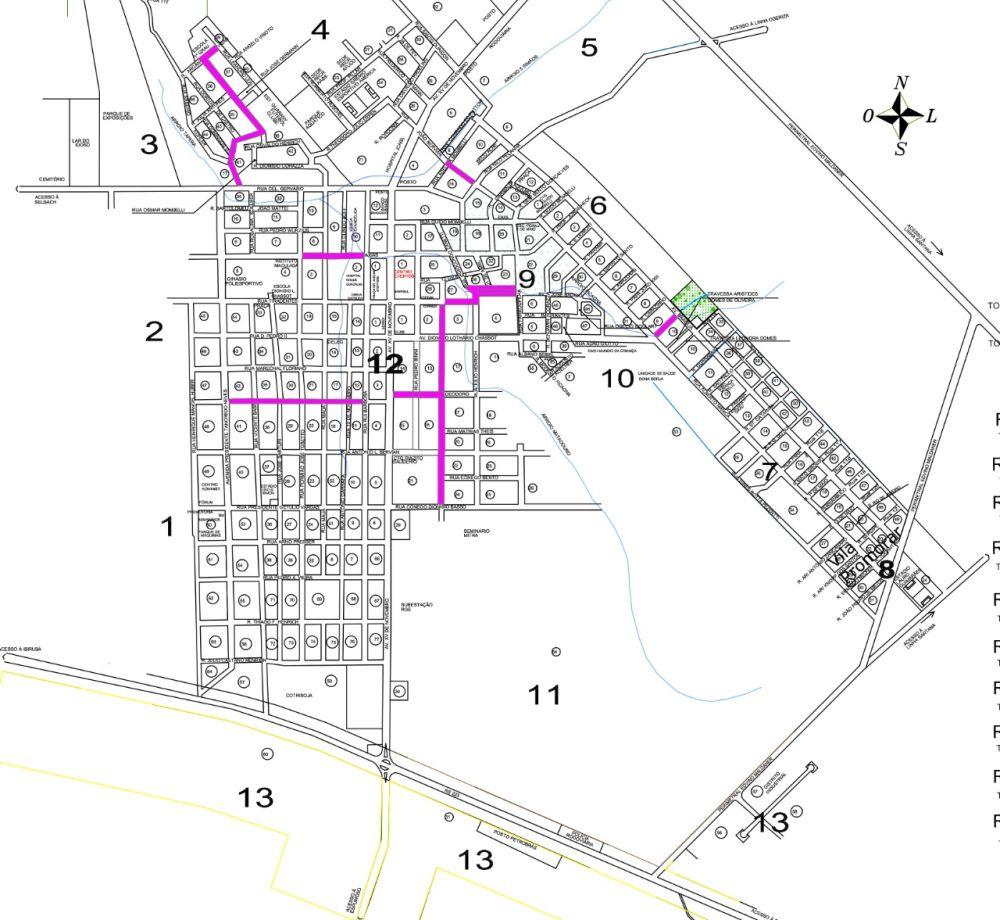 Tapera irá asfaltar 10 ruas na cidade