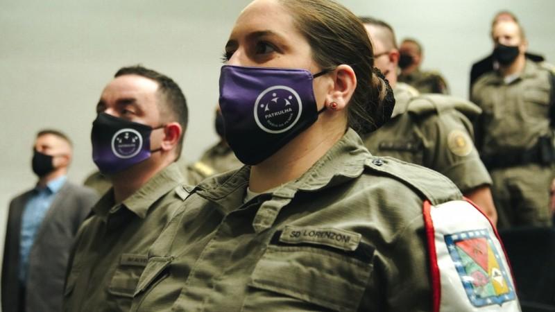 Patrulhas Maria da Penha ganham 460 novos brigadianos capacitados para atendimento especializado