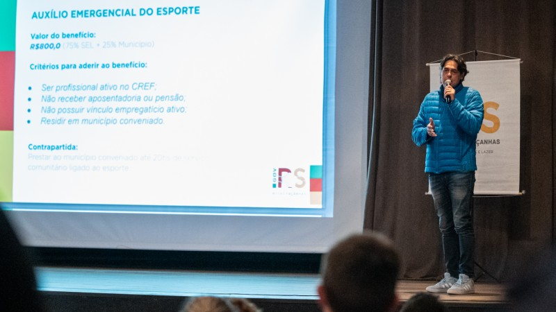 Secretaria do Esporte e Lazer lança segunda chamada do Auxílio Emergencial do Esporte