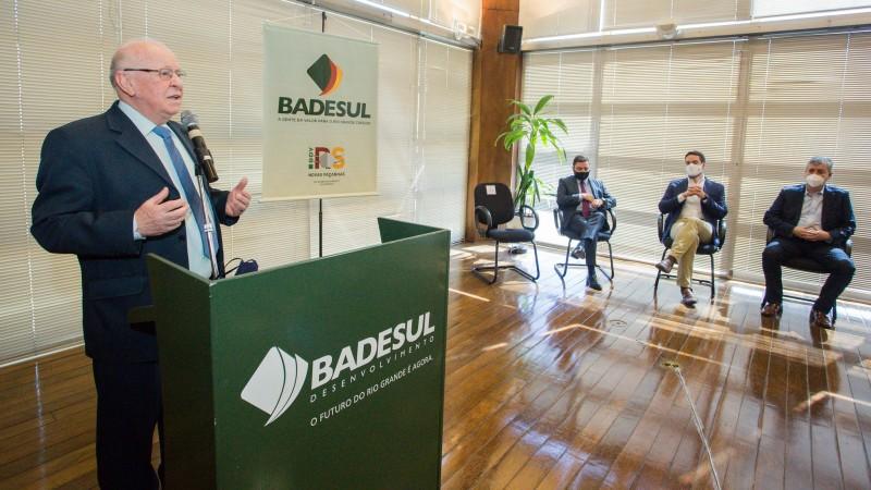 Odacir Klein é o novo presidente do Badesul