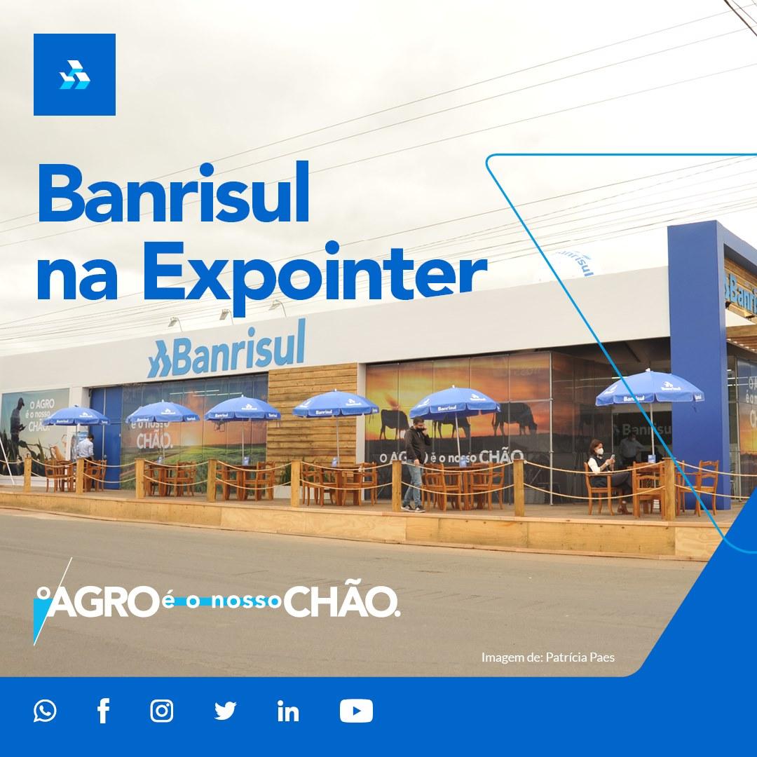 EXPOINTER: Banrisul tem linhas com recursos próprios para o agronegócio