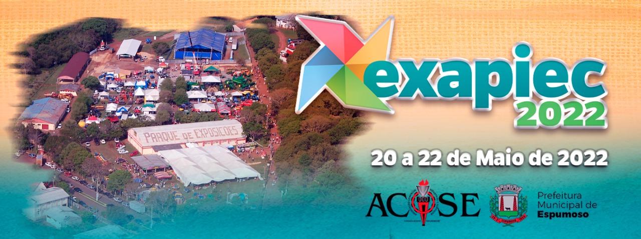 Organização confirma Exapiec de 20 a 22 de maio de 2022 em Espumoso