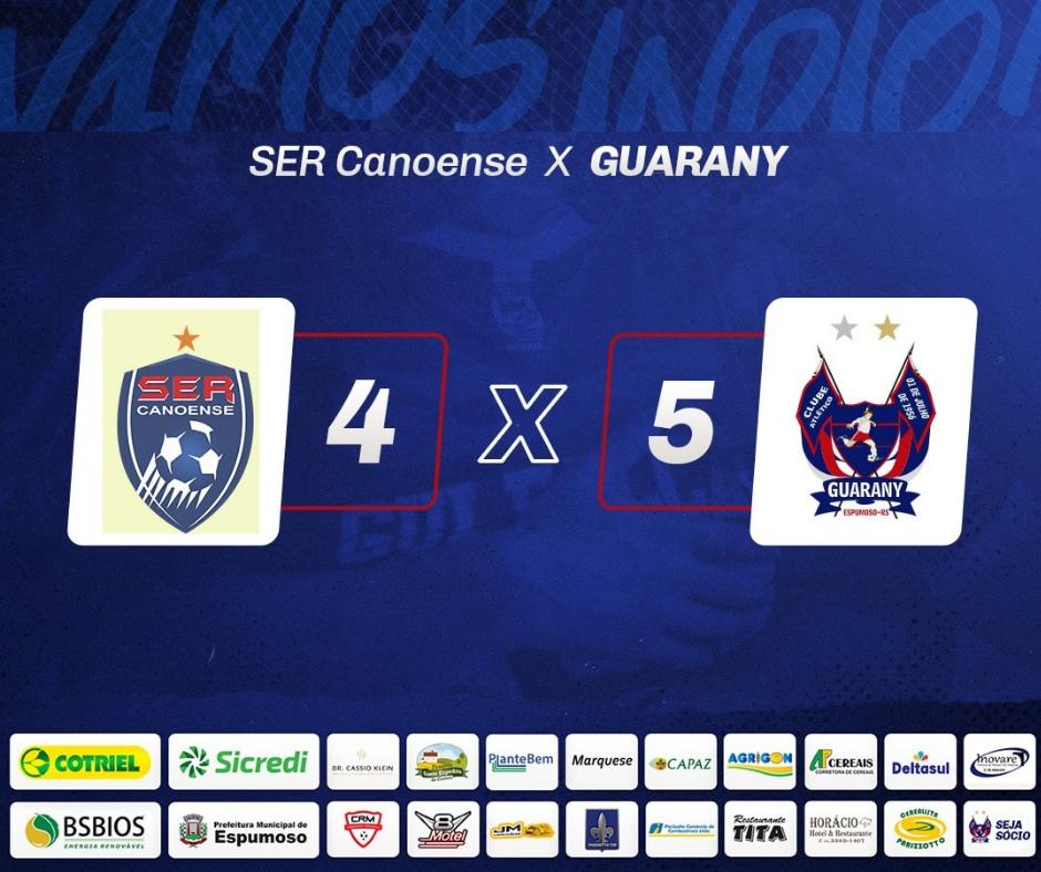 Guarany/Cotriel/Sicredi vence pela quarta vez seguida