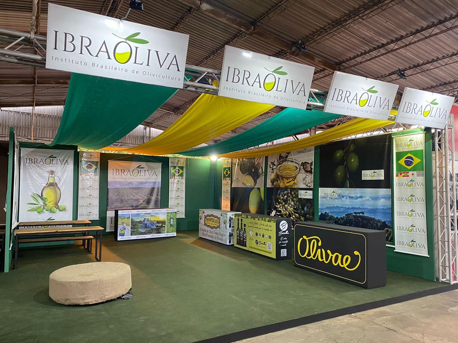 Instituto Brasileiro de Olivicultura destaca apoio do governo do Estado na 44ª Expointer e expansão da produção de azeite