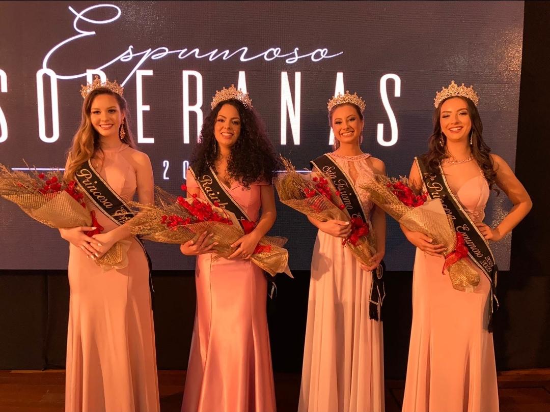 Caroline Prates de Oliveira é a nova Rainha de Espumoso