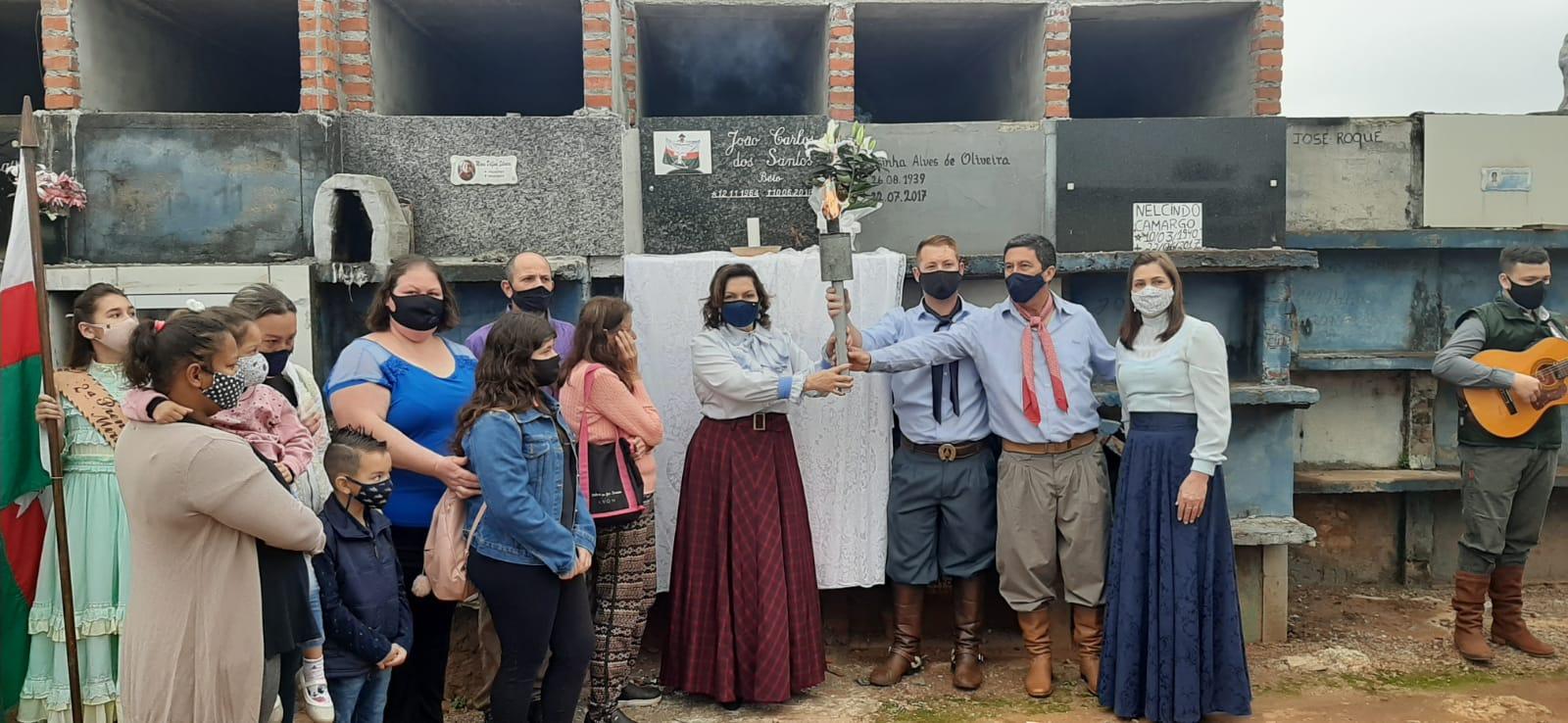 Espumoso: Aberta oficialmente a Semana Farroupilha do G.A.N Sepé Tiaraju