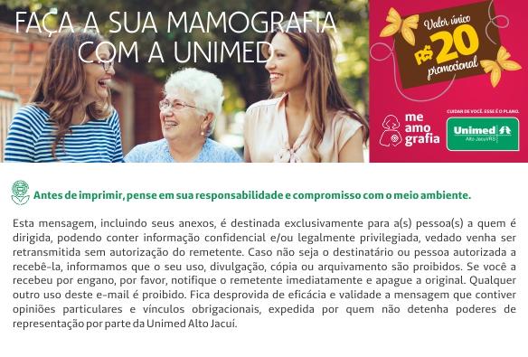 Unimed Alto Jacuí começa a Campanha MeAmoGrafia em alusão ao outubro rosa