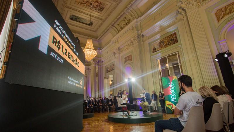 Avançar na Educação: governo lança plano de ações e investimentos de R$ 1,2 bilhão para obras e qualificação do ensino no RS