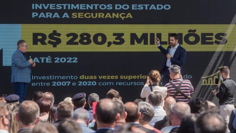Avançar na Segurança: lançado plano de R$ 280,3 milhões para viaturas, equipamentos, tecnologia e obras