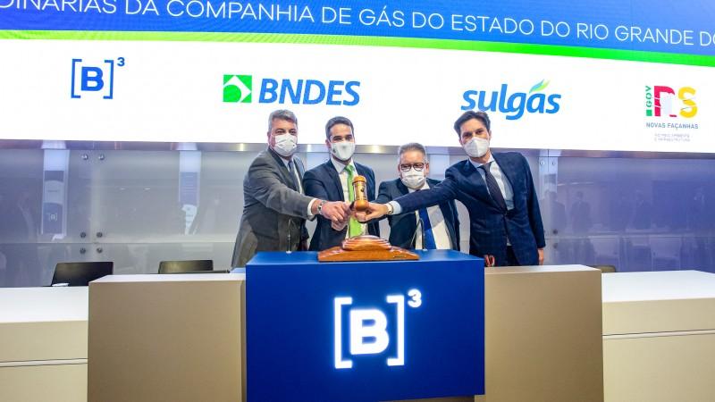 Compass vence leilão de privatização da Sulgás
