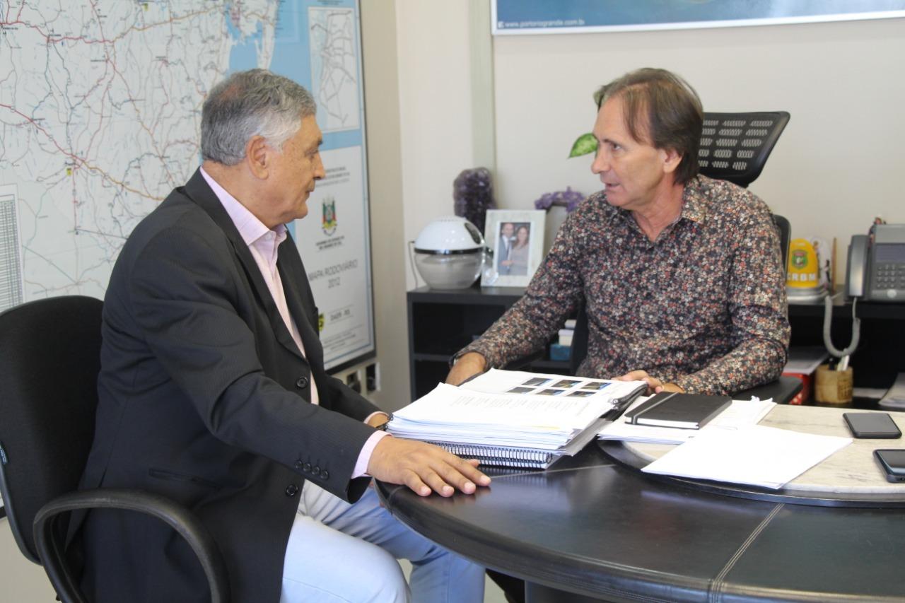 Secretário do transporte confirma licitação de obras na região