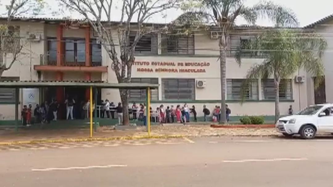 IEE Imaculada Conceição,  de Tapera, afasta turmas após casos de Covid