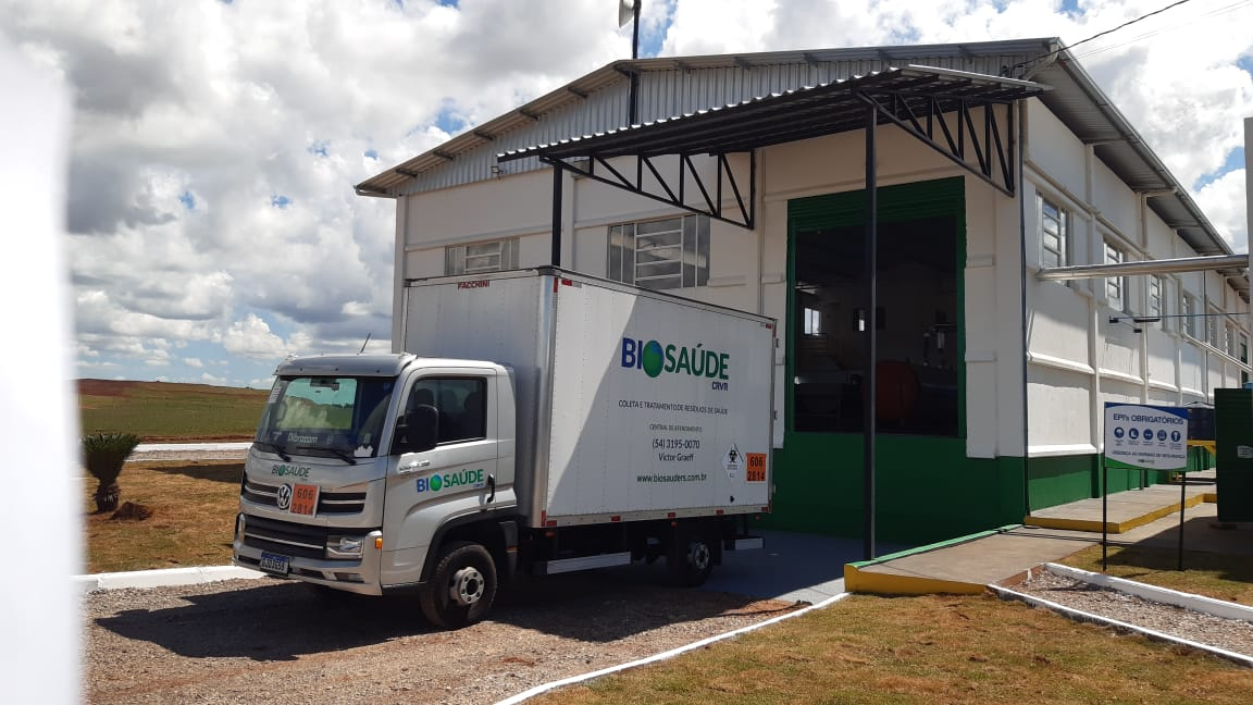 CRVR inaugura em Victor Graeff unidade para beneficiamento de resíduos de saúde