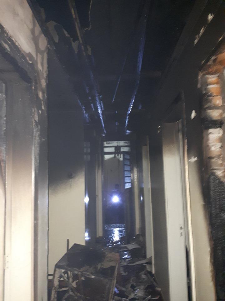 Bombeiros controlam incêndio na delegacia de Não-Me-Toque