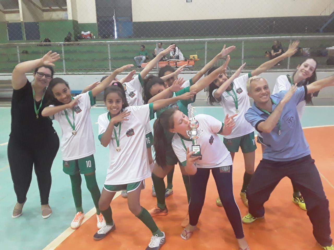 Mormaço é campeão regional de futsal feminino pela Tacinha Sicredi