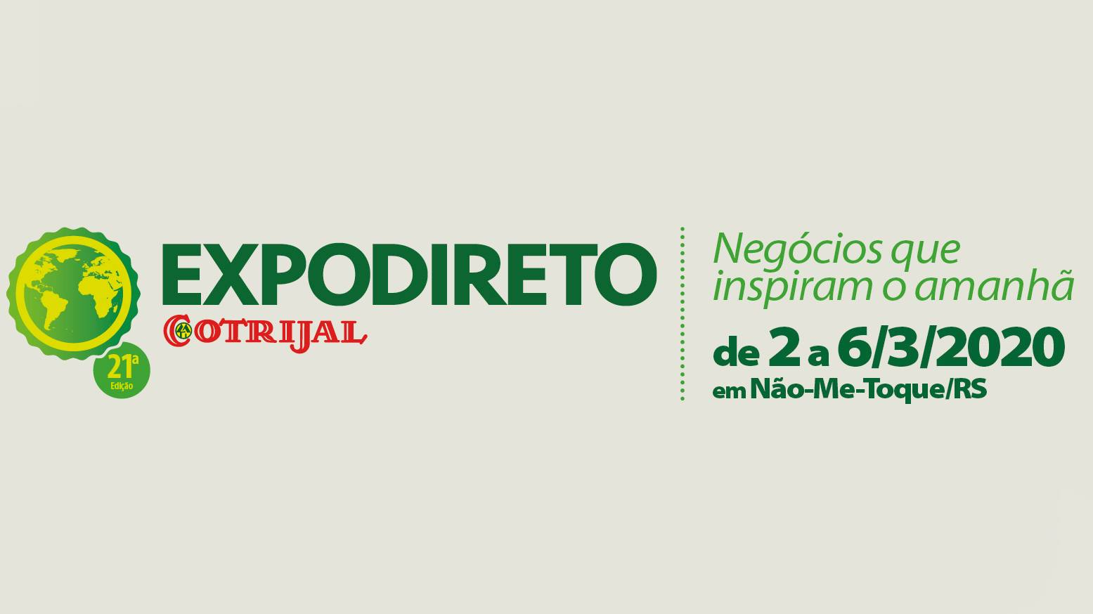 Vice-presidente da Cotrijal destaca os preparativos para a Expodireto 2020