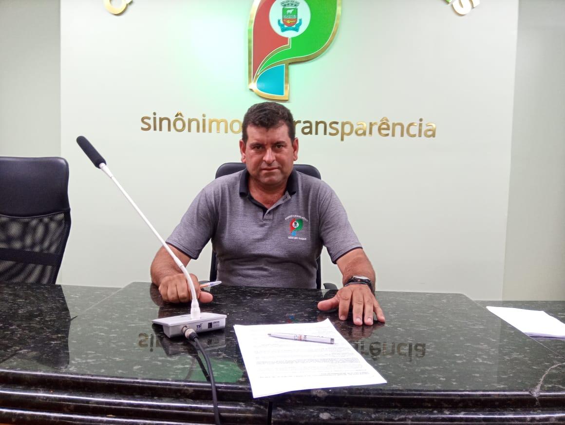 Presidente da Câmara fala do Troféu Semente de Ouro e confirma que irá sair do PDT