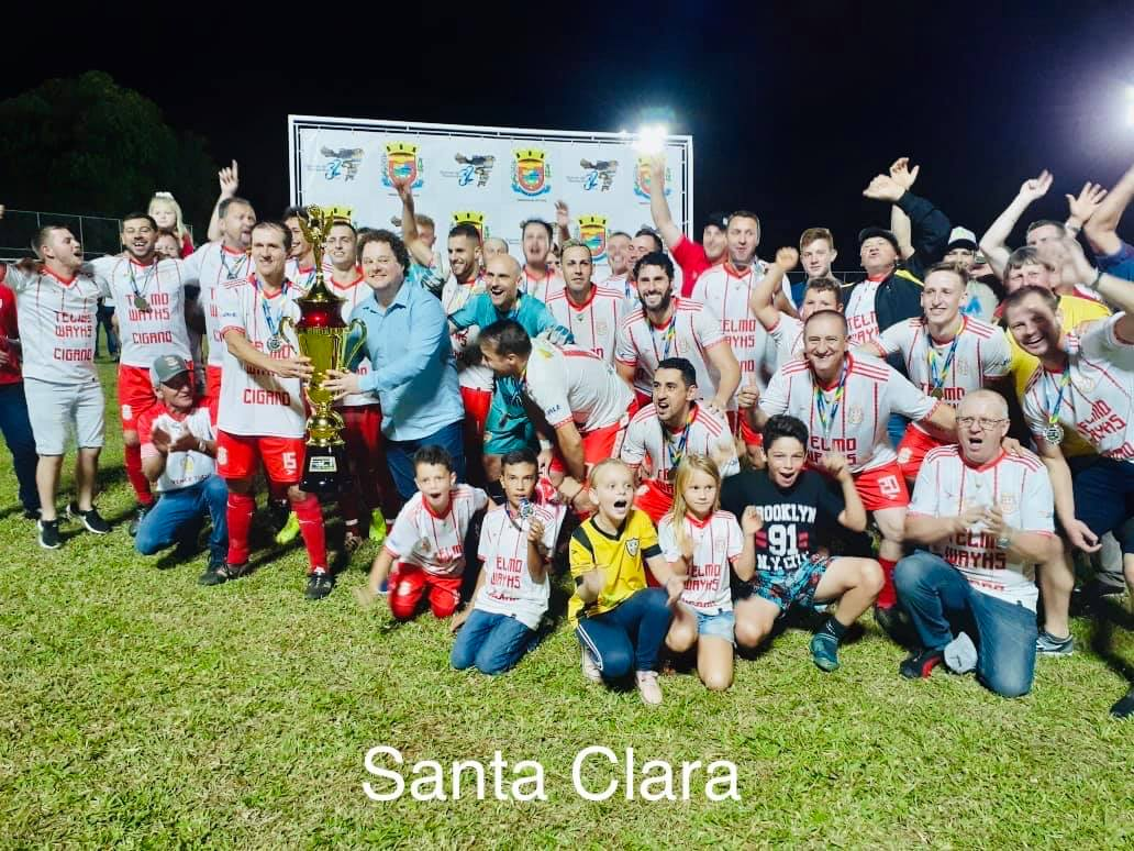 Santa Clara conquista o título do Futebol de Quinze de Novembro