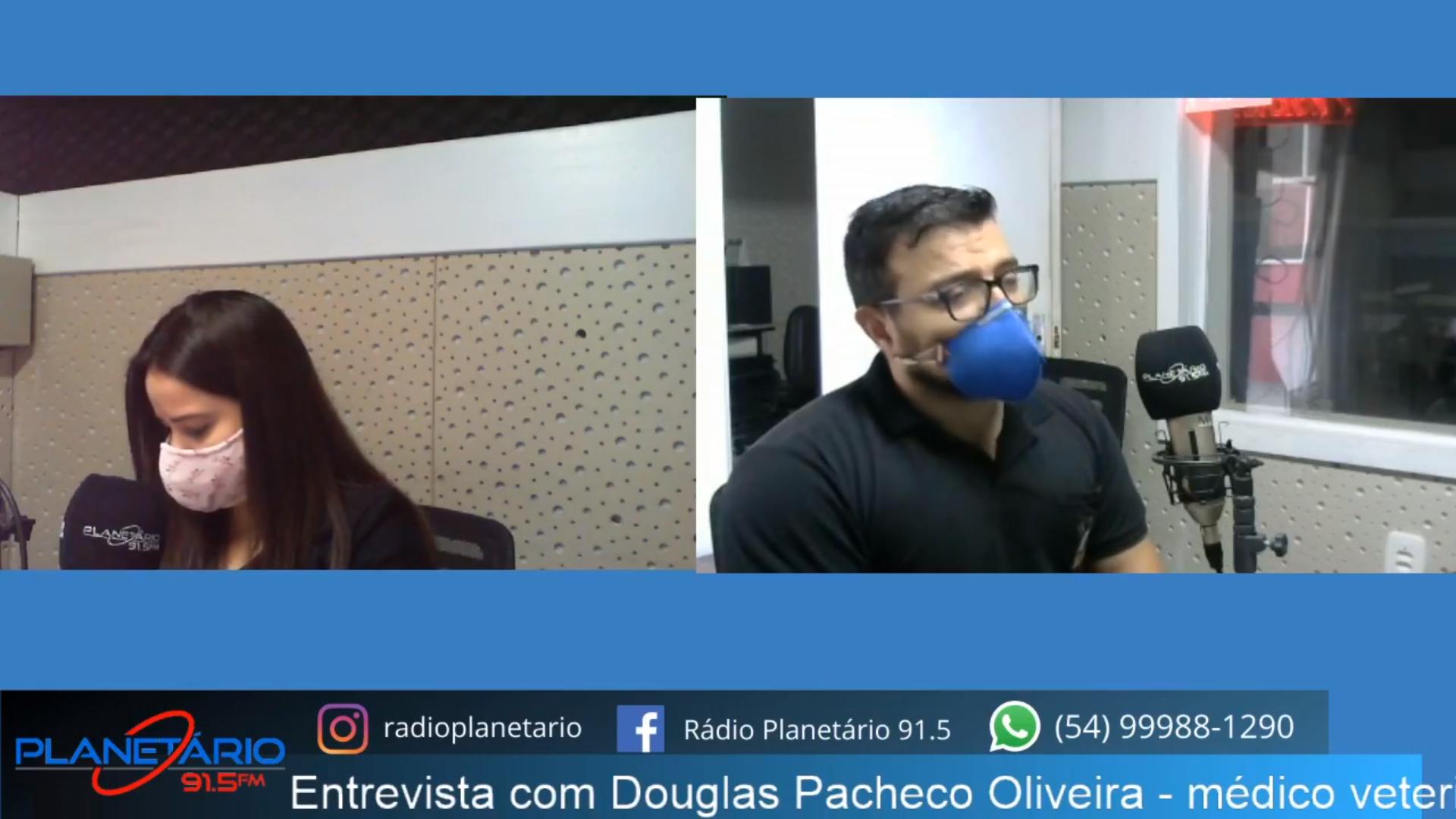 Douglas Pacheco Oliveira – médico veterinário e Fiscal Estadual Agropecuário da Inspetoria de Espumoso.