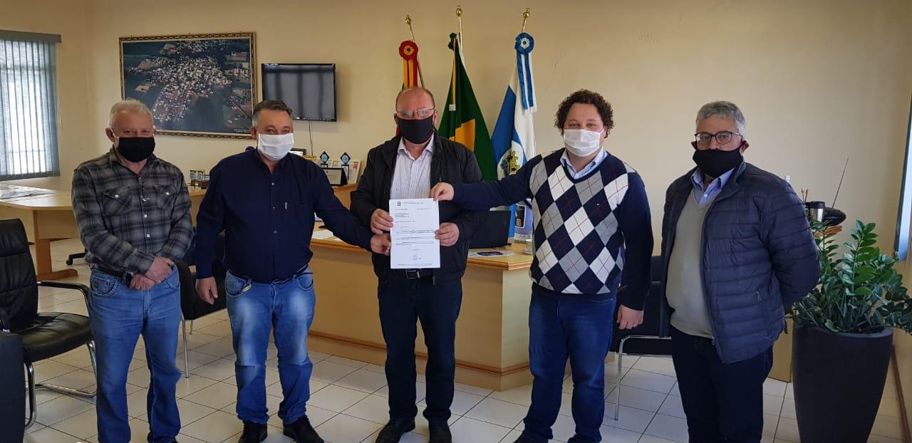 Dep. Giovani Feltes destina 100 mil reais para a saúde de Quinze de Novembro