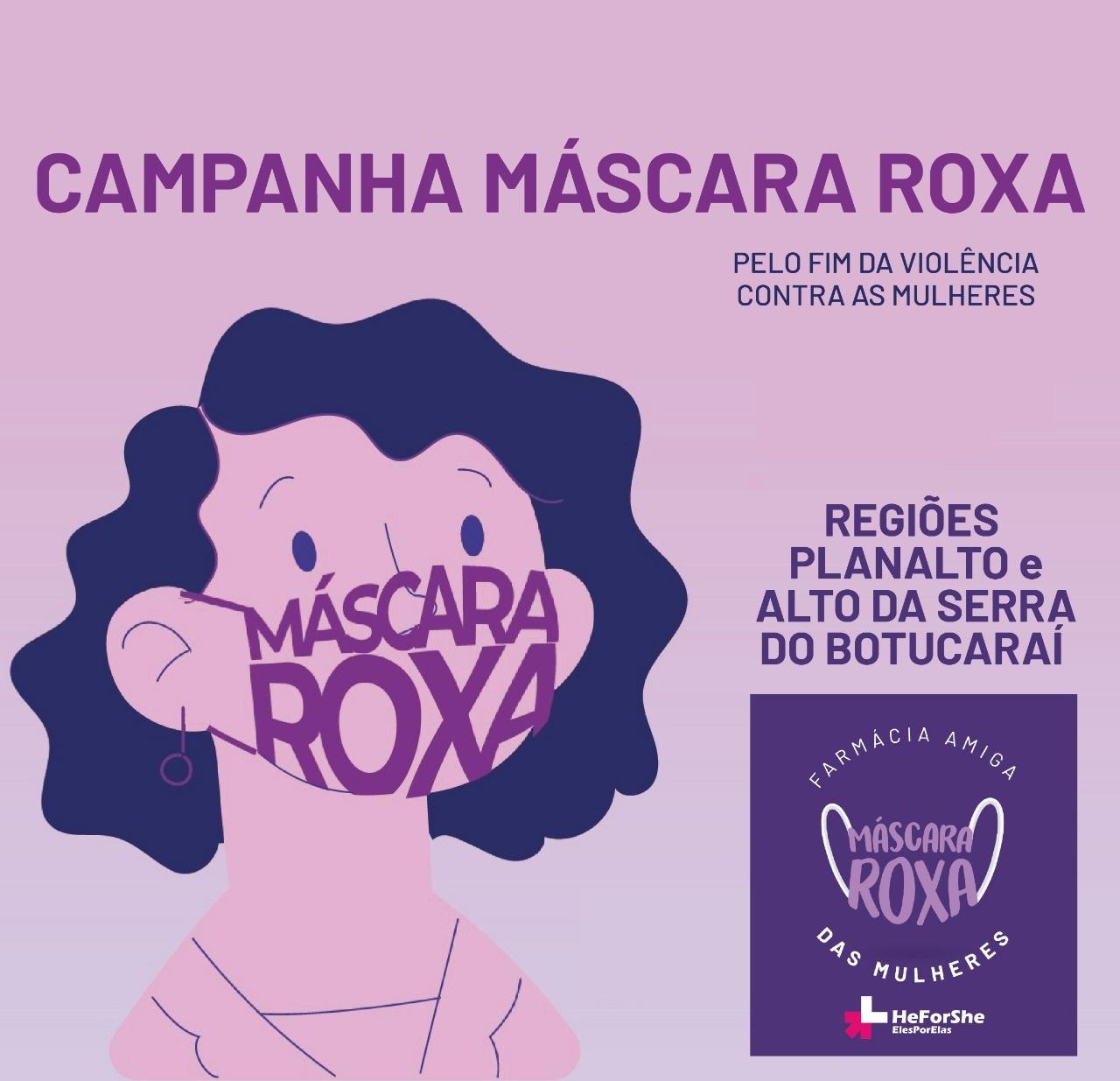 """Tio Hugo adere à campanha """"Máscara Roxa"""": Não à violência doméstica"""