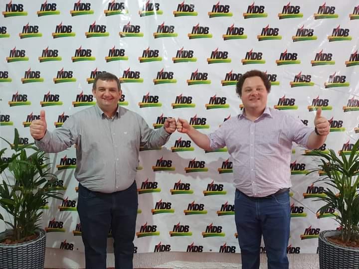 MDB de XV de Novembro oficializa prefeito Gustavo Stolte e vice Marcos Petri