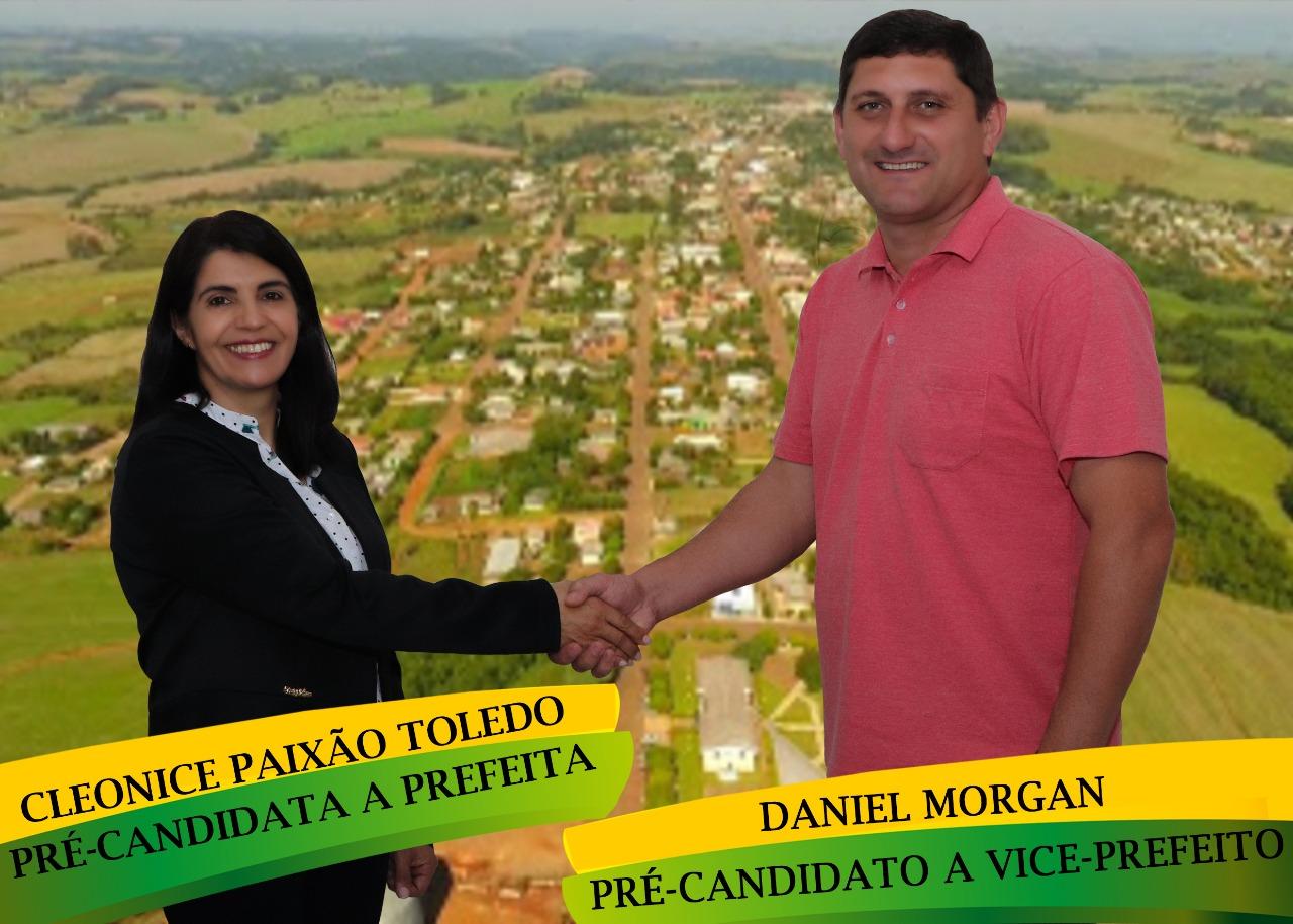 MDB indica Cleonice Toledo para prefeita e Daniel Morgan (PTB) vice em Campos Borges