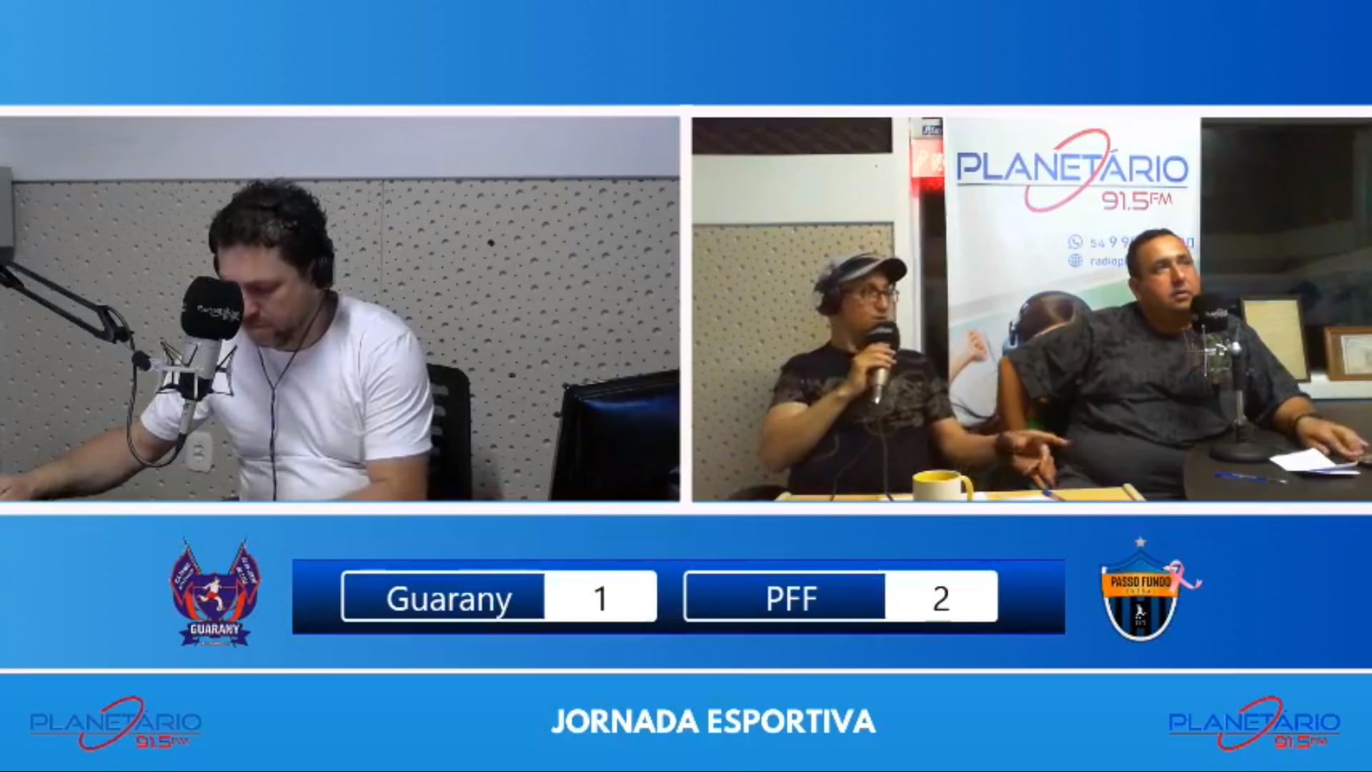 Aqui na Planetário Guarany vs PFF de Passo Fundo