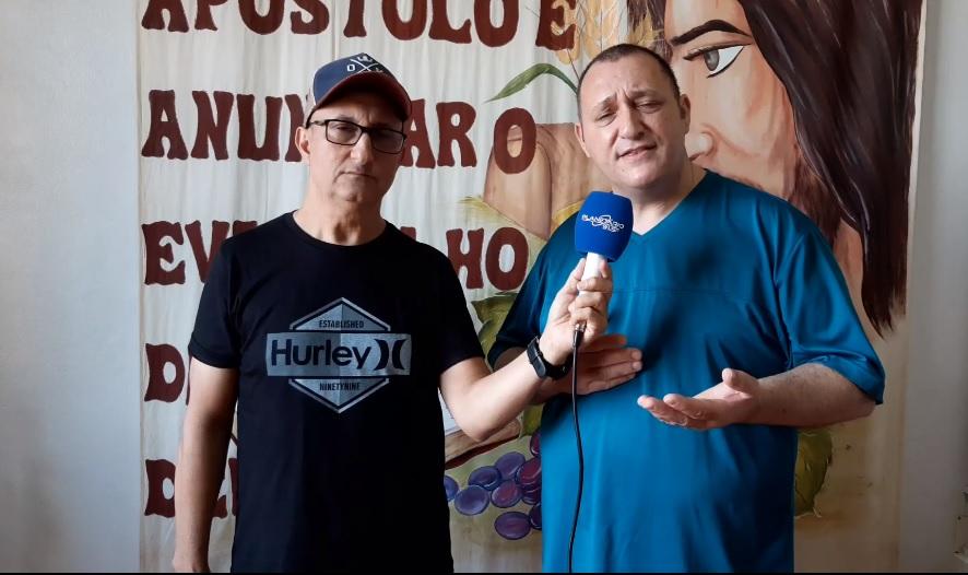 Confira entrevista com Padre Sandro da Paróquia São Jorge de Espumoso